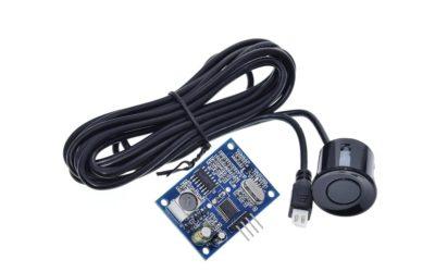 Communicating with a Waterproof Ultrasonic Sensor AJ-SR04M/JSN-SR04T
