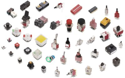 Commonly used Switches in Electronics