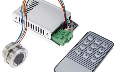 Controlling R503 Finger Print Sensor with K216 Controller